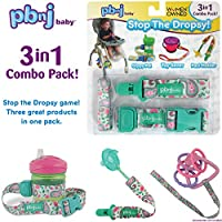 Stop the Dropsy 3-in-1 Combo Pack Green & Pink Paisley