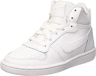 耐克 COURT BOROUGH 中 ( GS ) 女孩篮球鞋