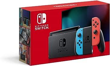 Nintendo 任天堂 Switch 游戏机 掌机 Joy Con(L) 新版更长续航时间 红蓝彩色手柄