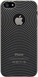 KATINKAS 2108047062 Soft Cover for Apple iPhone 5 Circle - 1 Pack - Retail Packaging - Black
