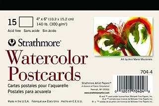 strathmore 空白水彩明信片 PAD OF 15(包装可能不同)
