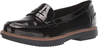 Clarks 女式 Raisie Eletta Penny 乐福鞋