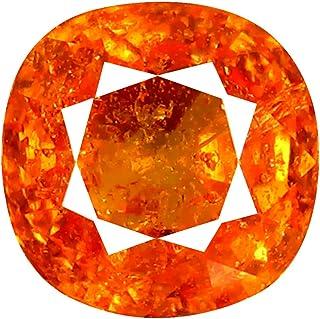 1.70 克拉 AAA 垫型(6 x 6 毫米)坦桑黝帘石钻 天然松散宝石
