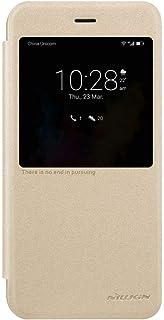 Nillkin 闪亮皮革手机套适用于华为荣耀 V9 - 金色