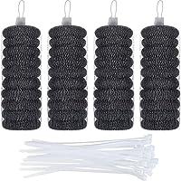 Hotop 40 条装棉绒陷阱,40 条装尼龙电缆扎带,可机洗。