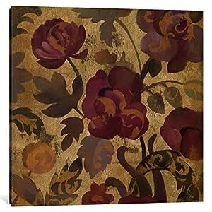 iCanvasART WAC1312-1PC3-18x18 Shimmering Garden II Canvas Print by Silvia Vassileva, 18 x 18 x 0.75-Inch