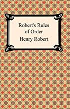 Robert's Rules of Order (English Edition)