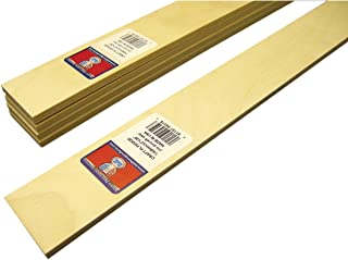 Midwest Products 工艺胶合板薄板,6.35 X 91.44 厘米,5 件套