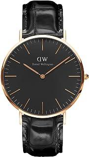 Daniel Wellington 丹尼尔惠灵顿 中性 手表 - DW00100129,黑色