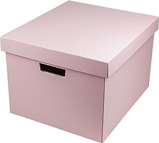 YAMANGE 收纳盒 (L)(5枚装) A4尺寸 粉色