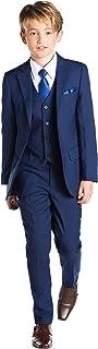 伦敦佩斯利,国王蓝,男孩修身场合,儿童正式婚礼套装,XL - 20