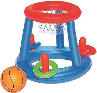 Universal Home H2O GO! 充气篮球圈投掷泳池运动玩具游戏中心