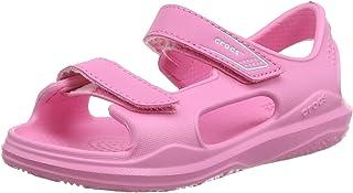 Crocs 卡骆驰儿童 Swiftwater 远征凉鞋   易穿水滩和泳池鞋