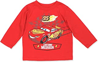 Disney 男童汽车闪电麦昆现成竞赛两层 T 恤