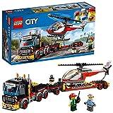 LEGO 乐高  拼插类 玩具  LEGO City  城市系列 重型直升机运输车 60183 5-12岁