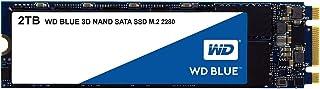 Western Digital 西部数据 Blue 3D NAND 2TB 内置 PC 固态硬盘 - SATA III 6 Gb/s,M.2 2280,高达 560 MB/s-WDS200T2B0B