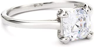 Myia Passiello Essentials R2765401_120_056 纯银 926 方晶锆石戒指 尺寸 P 1/2
