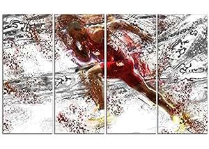 数字艺术篮球 Slam Dunk 运动帆布艺术印刷品