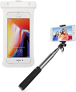 SumacLife 防水保护套通用保护套适用于 5.75 英寸智能手机 - 黑色DF_000001129 白色