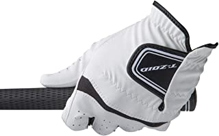 MIZUNO 高尔夫球手套 T-ZOID 手套 男士 5MJML60401 白色