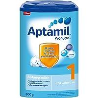 Aptamil 爱他美 1段初始奶粉 Pronutra亲源配方 4盒装 (4 x 800 g)