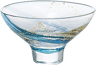 东洋佐佐木玻璃 日本酒杯 透明 120ml 江户硝子 八千代窑 杯 日本制造 10793