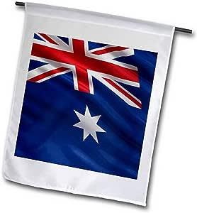 "3dRose fl_178796_2"" 澳大利亚国旗风花园风衣旗,45.72 x 68.58"