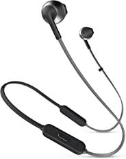 JBL TUNE205BT 蓝牙耳机 带麦克线控/入耳式黑色 JBLT205BTBLK