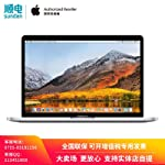 【618年中大促】Apple MacBook Pro 15.4英寸笔记本电脑 配备Touch Bar和Touch ID 2.2GHz 六核第八代 Intel Core i7 处理器 16GB 256GB固态硬盘 MR962CH/A 银色...