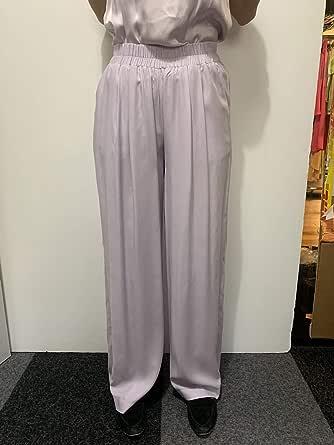 The Drop 女式标准紫丁香宽松高腰阔腿裤