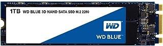 Western Digital Blue 电脑固态硬盘 3D NAND 1TB - SATA III 6 Gb/s, M.2 2280 - WDS100T2B0B