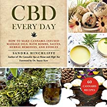 CBD Every Day: How to Make Cannabis-Infused Massage Oils, Bath Bombs, Salves, Herbal Remedies, and Edibles (English Edition)