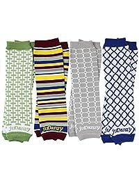 juDanzy 4 件装有机婴幼儿护腿套装男女通用