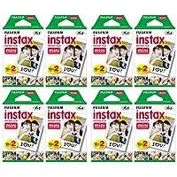 适用于Instax相机的Fujifilm Instax Mini即时胶卷(8件装,共160张照片)