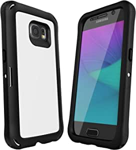Ballistic Samsung Galaxy S6 Explorer Case with Holster - Retail Packaging - White/Black