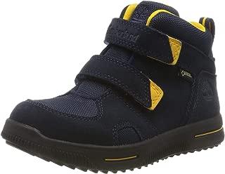Timberland 添柏岚 中性儿童 City Stomper 2 绑带 Mid Goretex 经典靴子