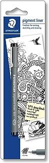 Staedtler Pigment Liner Fineliner Pen with Line Width 0.4 mm - Black