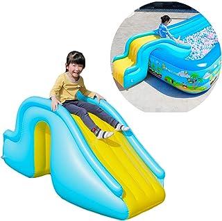 无品牌儿童充气滑梯后院滑梯儿童室内和室外儿童公园 49*23*23inch