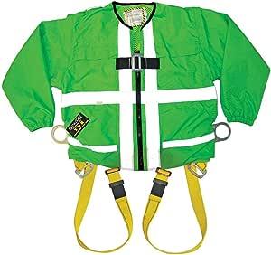 Guardian 防摔 Hi-Viz 绿色管带拉链开/开合长袖 小号 13200