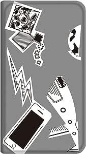 智能手机壳 手册式 对应全部机型 薄型印刷手册 cw-141top 套 手册 动画 极薄 轻量 UV印刷 壳WN-PR119540-M Disney Mobile on docomo DM-01H B款