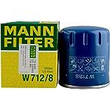 MANNFILTER 曼牌滤清器 机油滤清器W712/8(206/406/407/607/富康/爱丽舍/C5)