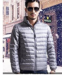 比狮诺 男式新款轻薄款羽绒服男立领冬装外套加大码男装男式短款