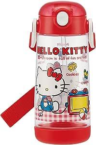 Kitty 水壶 ストロー付 ハローキティ ギンガムチェック PDSH5