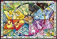 Buffalo Games 寵物小精靈 口袋妖怪 神奇寶貝 伊布(Eevee's)的彩色玻璃 拼圖-2