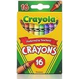Crayola 绘儿乐 经典颜色蜡笔 16色(6包装)