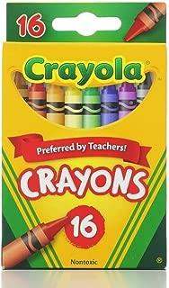 Crayola 繪兒樂 經典顏色蠟筆 16色(6包裝)