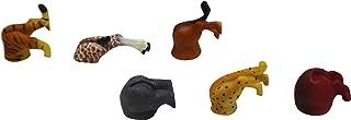 Cat Butt & Dog Butt 冰箱贴 - 6 件装,适合爱猫和狗人士、宠物爱好者和办公室装饰 - 品种多样套装 多种颜色 Safari Animal Magnets