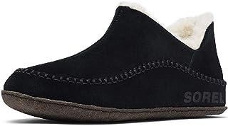 Sorel - Manawan II 男士拖鞋,麂皮鞋面,羊毛/涤纶衬里