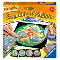 Ravensburger Original Mandala Designer 29719 29719 金属独角兽曼陀罗设计师