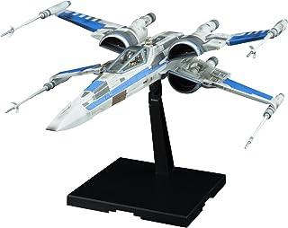 Bandai Hobby 1/72 蓝色队伍抗力 X-Wing 星球大战:*后的绝地武士模型构建套件